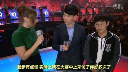 LGD赛后专访IMP:如果不面对韩国ADC我还可以赢