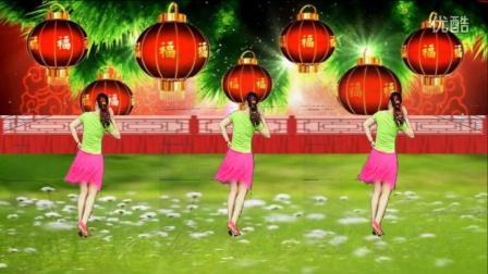 点击观看《阿娜广场舞 幸福跳起来 背面舞蹈动作分解舞蹈教学视频》