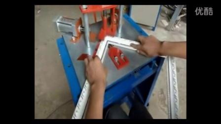 十字绣裱框钉框机3 长武县相框钉角机 商业组角机切角机设备厂