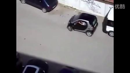 【30秒懂车】秀逗B 无人驾驶三轮神漂移