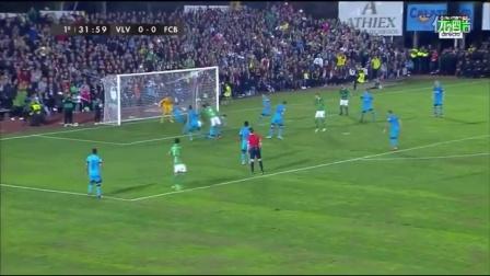国王杯-巴萨大规模轮换 客场0-0战平西乙B球队