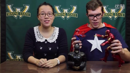 Learn a Chinese Phrase--Superheroes