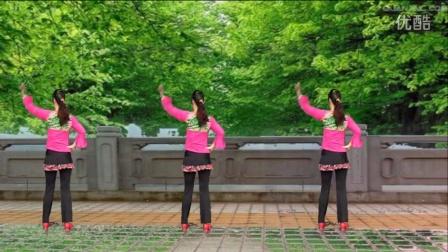 点击观看《阿娜广场舞 男人女人不容易 背面加分解 简单好学》