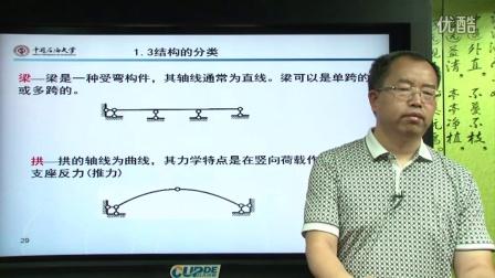 奥鹏教育&中国石油大学(北京)-结构力学-1.3 高清视频