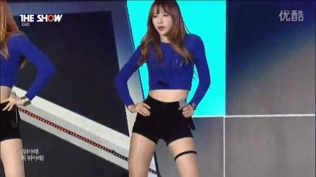 韩国美女热舞视频 SBS韩秀榜EXID骨盆舞 -上下 Up