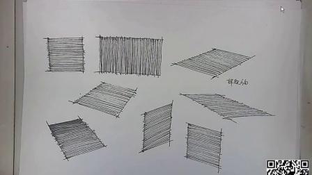 景觀手繪-線條技法2,景觀手繪畫法,景觀設計手繪技法基礎,景觀手繪技法教程,景觀設計手繪教程