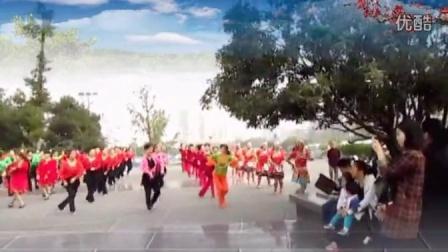 3苹紫广场舞参加红乔开心广场舞集体舞视频前世今生的缘