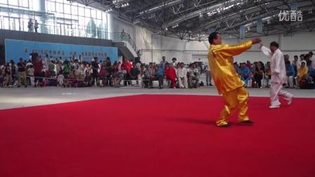 ...中华传统武术联盟主席 演练科星八卦掌视频
