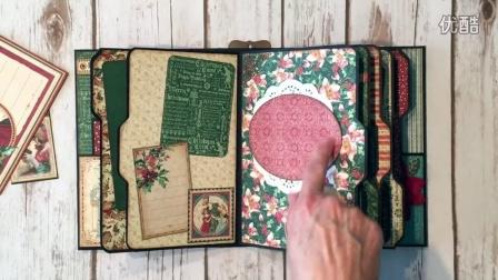 【相册欣赏】圣诞相册ButterBee Scraps Design Team Project G45 Christmas Carol Mini Album