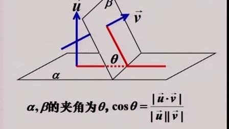 高中数学选修《立体几何中的向量方法》优课教学视频,新疆,2014年部级优课入围视频