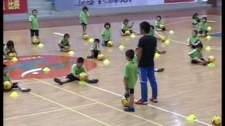 小学一年级体育下册《小足球——原地交叉拉踩球 蚂蚁搬家》教学视频