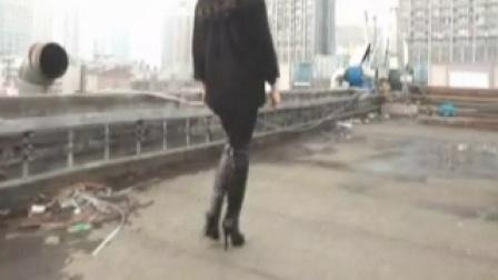 高挑女友长腿性感高跟长靴秀