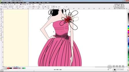 cdr服装设计教程