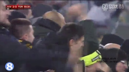 意杯-扎扎两球博格巴破门 尤文4-0大胜都灵