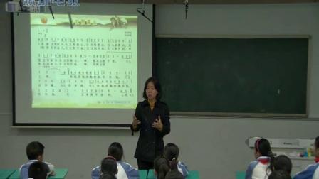 《当太阳落山》教学课例-花城版音乐五年级,阳光小学:梁君煜