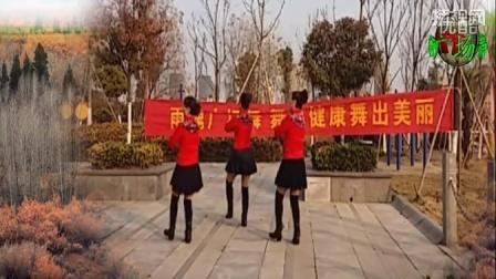 点击观看《雨魂广场舞 摇曳的玫瑰 正反面舞蹈动作分解口令讲解广场舞教学视频 歌手 龙凤呈祥组合》