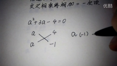 十字相乘法