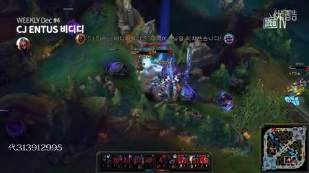 韩服王者精彩TOP5:秒人不到1秒,妖姬就该这么玩!
