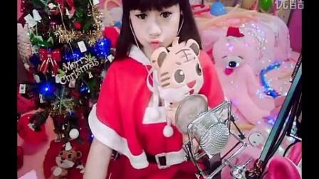 中视秀场美女直播苏浅圣诞热门歌曲铃儿响叮当
