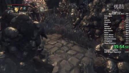 【RTA】【Bloodborne】血源诅咒 v1.09 一周目 全Boss rush DLC含月神 1h25m27s