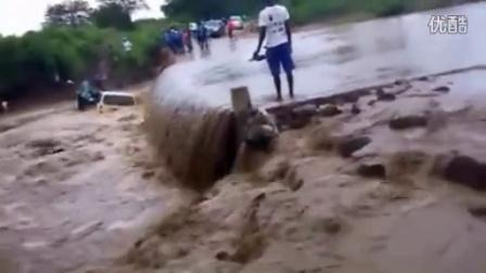 发大水的时候千万不要试图开车过河。。。