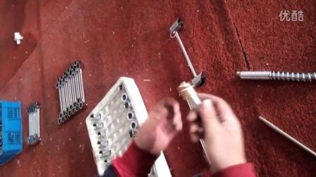 弹簧厨房水龙头拆卸安装