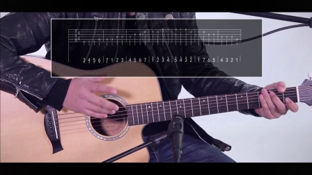 果木浪子吉他教学入门 第十四课 C调mi型音阶