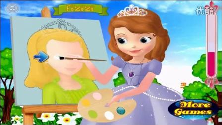 小公主苏菲亚动画片中文版 迪斯尼小公主苏菲亚 小公主苏菲亚画画视频