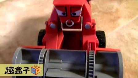 赛车总动员 Cars 弗兰克 割草机 变色玩具 套装 试玩