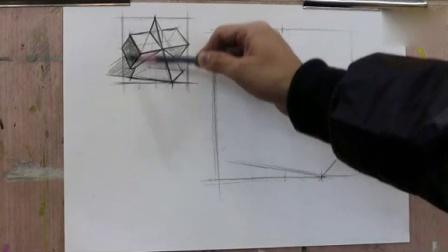 铅笔立体画 –