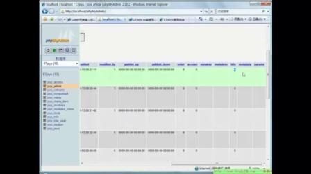 ThinkPHP搭建CMS项目设计02