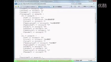 ThinkPHP搭建CMS文章内容组件02