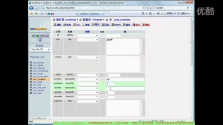 ThinkPHP搭建CMS模块管理