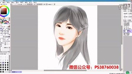 韵味十足的中国古典美女原画古风手绘视频教程