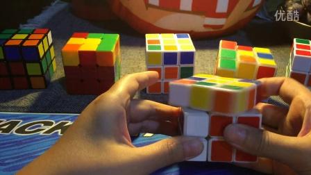 三阶魔方中级玩法(自创)上(第二层)