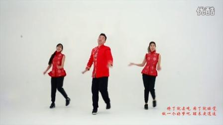 王广成健身广场舞--《福星高照》  崔子格 演唱