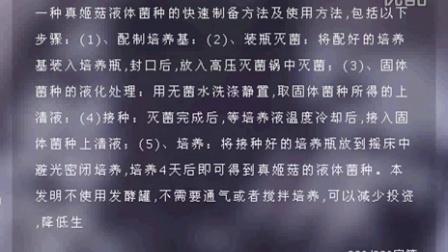 真姬菇液体菌种的快速制备方法及使用方法2016-1-11 11-13-25食用菌shiyongjun