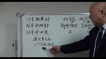 中国行业针灸协--杜嵩:独针(茶业特效)和点穴视频鼎白医疗图片