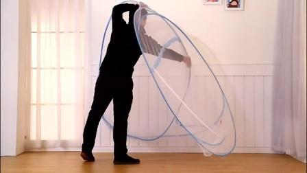 蚊帐蒙古包折叠方法