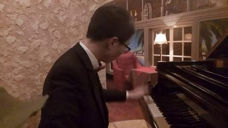水边的阿狄丽娜(三角钢琴)_tan8.com