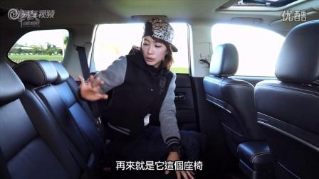 女赛车手试驾三菱全新欧蓝德实用型SUV视频