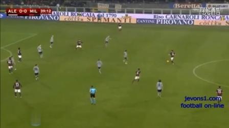 意杯-巴洛特利点射尼昂中柱 AC米兰1-0意丙队