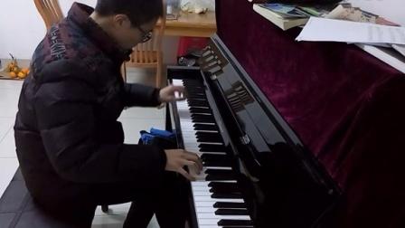 水边的阿狄丽娜(立式钢琴)_tan8.com