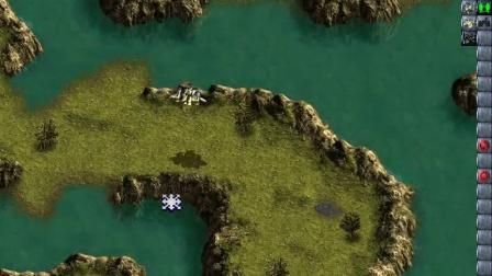 河流上的小岛
