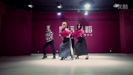韩国流行MV舞蹈 女生爵士舞 f(x) 4walls舞蹈教学视