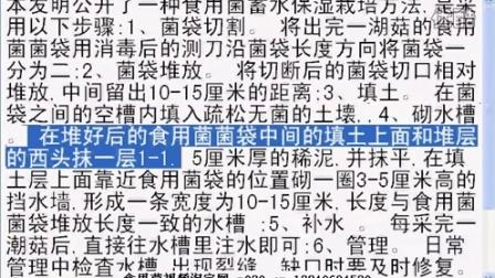 一种食用菌蓄水保湿栽培方法,在多个菌场试验可以增亿0%以上_专利技�c016-2-1 9-28-26食用菌shiyongjun