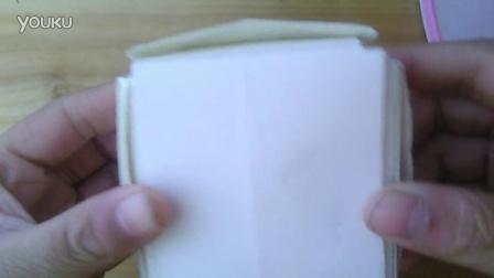 简单折纸戒指步骤图解