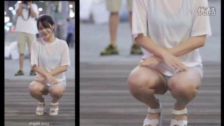 街拍韩国美女  好清楚诱惑的放大特写