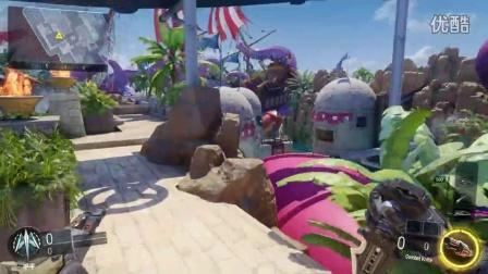 【橙空】PS4游戏 使命召唤黑色行动3 新DLC地图BUG(最近网络不稳定啊,没法联机··)