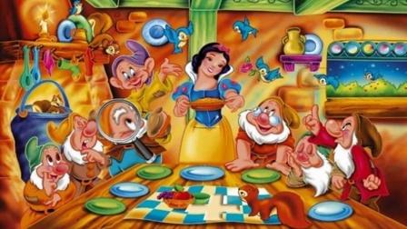 白雪公主动画片中文动漫版白雪公主和七个小矮人达西电影院国语图片